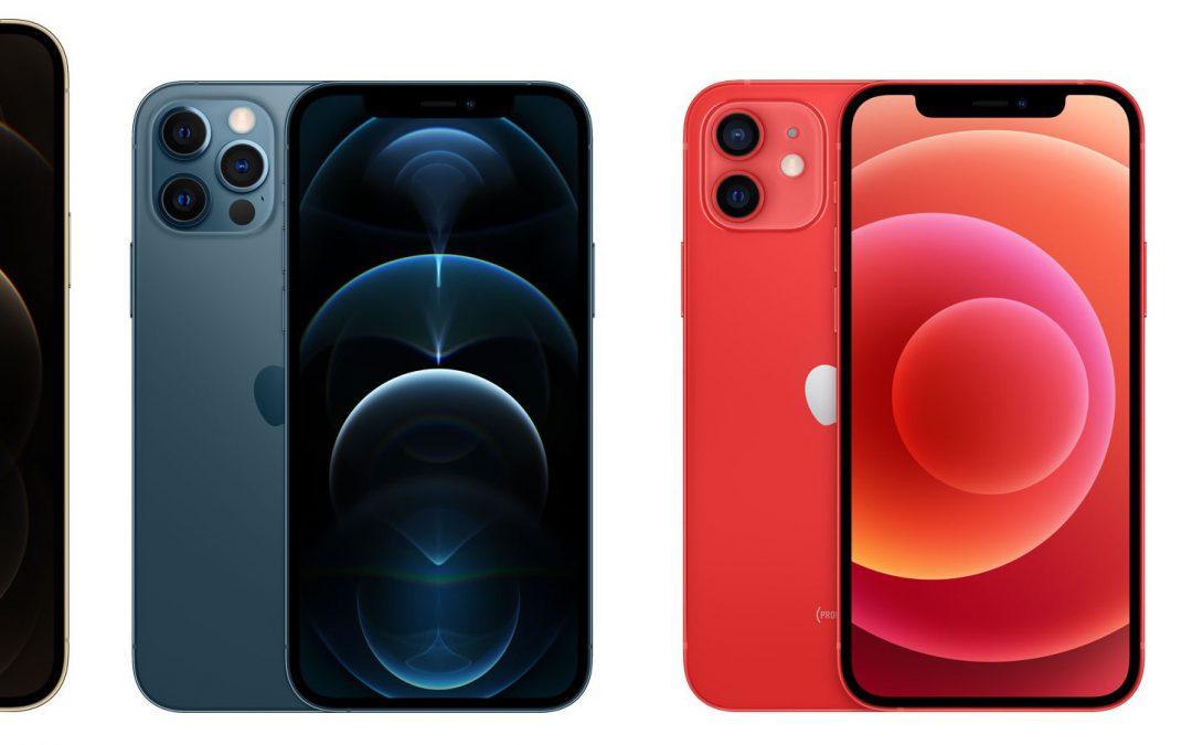 Précommandes iPhone 12, 12 Mini, 12 Pro et 12 Pro Max disponibles !